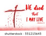 Bible Lettering.jesus Blood In...
