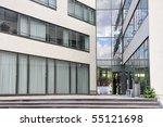 modern entrance | Shutterstock . vector #55121698