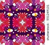 retro pattern design | Shutterstock .eps vector #551249131