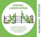 green hedge. element of...   Shutterstock .eps vector #551255191