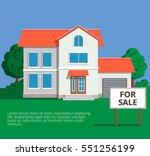 vector illustration in modern... | Shutterstock .eps vector #551256199