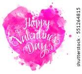 happy valentine's day. vector...   Shutterstock .eps vector #551264815