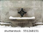 The Ottoman Fountain Is A Snow...