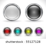 buttons for web. vector. | Shutterstock .eps vector #55127128