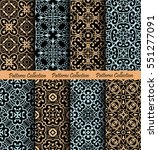 islamic pattern backgrounds.... | Shutterstock .eps vector #551277091