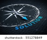 business solution concept  ... | Shutterstock . vector #551278849