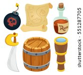 collection of pirate items....