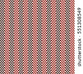 Herringbone abstract background. Red colors seamless pattern with chevron diagonal lines. Can be used for digital paper, textile print, page fill. Vector illustration | Shutterstock vector #551308549