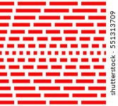 repeated red squares and... | Shutterstock .eps vector #551313709
