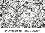 distressed overlay texture of... | Shutterstock .eps vector #551320294