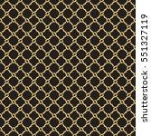 seamless geometric interlacing... | Shutterstock .eps vector #551327119