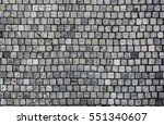 stone pavement texture. granite ...   Shutterstock . vector #551340607