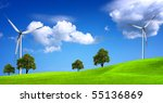 green nature | Shutterstock . vector #55136869