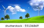 green nature | Shutterstock . vector #55136869