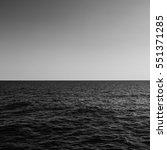 Calm Sea. Just Sea. Waves On...