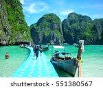 maya bay  phi phi lslands  phi... | Shutterstock . vector #551380567