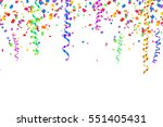 colorful serpentine and... | Shutterstock .eps vector #551405431