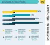 infographics element   ... | Shutterstock .eps vector #551408395