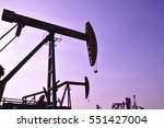 oil drilling rig | Shutterstock . vector #551427004