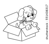 Coloring Page Outline Of Cute...