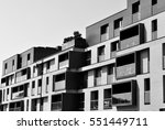 modern  luxury apartment...   Shutterstock . vector #551449711