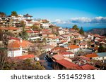 Rooftops Of Pedoulas. Nicosia...