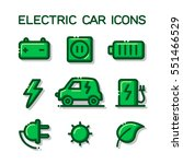 set vector line icons with... | Shutterstock .eps vector #551466529