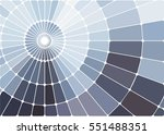 abstract geometric mosaic... | Shutterstock .eps vector #551488351