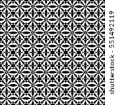 abstract seamless pattern of... | Shutterstock .eps vector #551492119