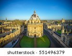 aerial view of the oxford... | Shutterstock . vector #551496379