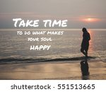 inspirational quote on... | Shutterstock . vector #551513665