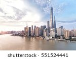 shanghai skyline and cityscape | Shutterstock . vector #551524441