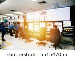 room of control devices in the... | Shutterstock . vector #551547055