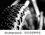 Bicycle Wheel And Tire Close U...