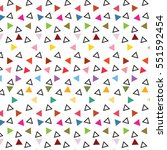triangle  color vector  lines...   Shutterstock .eps vector #551592454