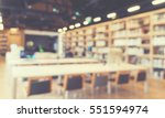 blurred abstract interior... | Shutterstock . vector #551594974