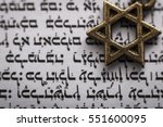 religion and judaism concept... | Shutterstock . vector #551600095