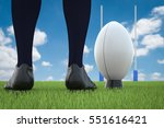 3d Rendering Rugby Ball With...