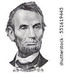 Us President Abraham Abe...