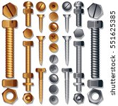 Construction Hardware Icons  ...