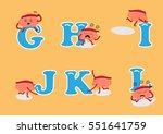 brain cartoon character vector... | Shutterstock .eps vector #551641759