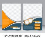 abstract flyer design... | Shutterstock .eps vector #551673109