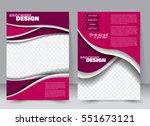 abstract flyer design... | Shutterstock .eps vector #551673121