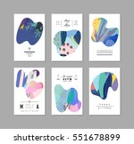 set of creative universal art...
