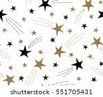 holiday background  seamless... | Shutterstock .eps vector #551705431