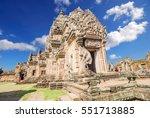 prasat hin phanom rung hindu... | Shutterstock . vector #551713885