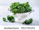 Fresh Kale Curly Cabbage For...