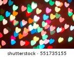 Heart Bokeh Background....