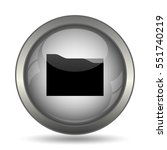 folder icon  black website... | Shutterstock . vector #551740219