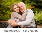 authentic photo of smiling... | Shutterstock . vector #551773015